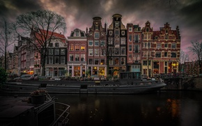 Picture home, Amsterdam, channel, Netherlands