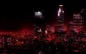 Picture city, game, night, Grand Theft Auto V, GTA V, GTA 5
