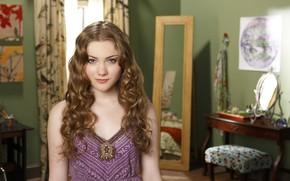 Picture girl, hair, blouse, beautiful, Skyler Samuels, Skyler Samuels