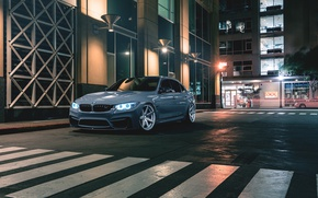 Picture BMW, Car, Front, Wheels, Rohana, M3