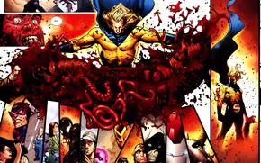 Picture Wolverine, comic, comics, Captain America, Marvel Comics, Venom, Ares, Ares, Siege, Tagged, iron patriot, Taksmasters, …