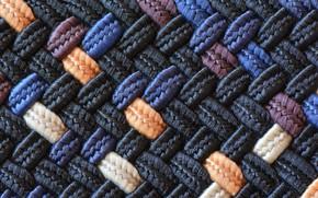 Picture macro, fabric, netting