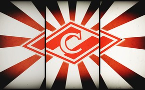 Picture Red, Sport, Logo, Football, Background, Emblem, Russia, Club, Hockey, Spartacus, Football Club, Rhombus, Meat, 1922, ...