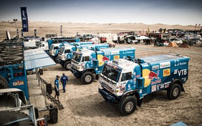 Picture Sand, Town, Truck, Master, Russia, 500, Kamaz, Rally, Dakar, Dakar, Rally, KAMAZ, 507, 502, RedBull, …