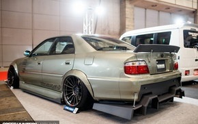 Picture tuning, back, spoiler, Toyota, tuning, Chaser, SpeedHunters, Toyota Chaser, Larry Chen, Uras Tuning