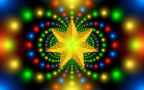 Picture background, star, bright