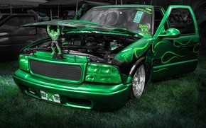 Picture design, style, airbrushing, car