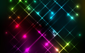 Wallpaper background, rainbow, colors, lights, lights, background, neon, neon, abstract