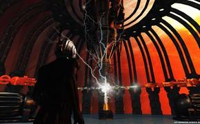 Picture the reactor, installation, voltage, Black Volt, neutron kraker