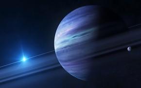 Picture planet, satellite, Jupiter, solar system
