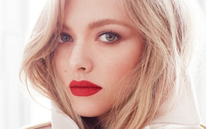 Picture face, actress, blonde, Amanda Seyfried