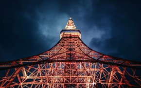 Picture Tokyo, night, Tower