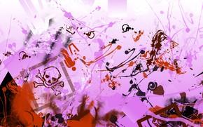 Picture color, texture, form