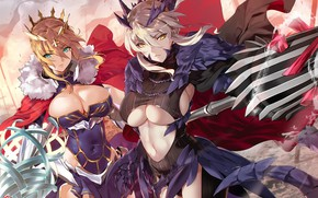 Picture armor, weapon, big, umbrella, anime, pretty, manga, oppai, strong, sugoi, bishojo, kyojin, japonese, Fate Grand …