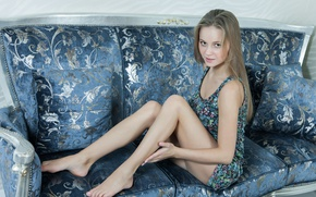 Picture girl, house, dress, legs, erotic, beautiful girl, perfect body, Alexandra, only girl, Cambron