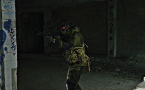 Picture weapons, soldiers, is, looks, atmospheric photo