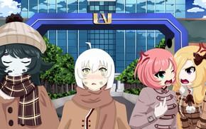Picture anime, manga, japonese, Boku no Hero Academy, My Heroc Academia, by ladytrsharon