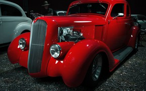 Picture Plymouth, Custom, 1936