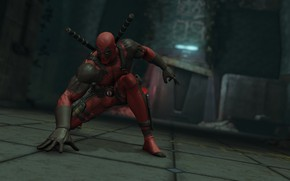 Picture background, mask, costume, deadpool