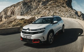 Picture road, front view, 2018, crossover, Aircross, Citroen C5