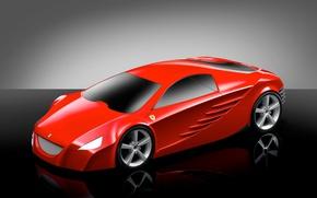 Picture concept, Ferrari, 175