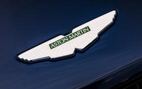 Picture Aston Martin, emblem, logo, 2018, DB11, AMR