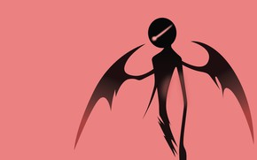 Picture background, silhouette, vector graphics, greenmapple17, Deemo- Entrance