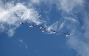Picture Su-27, Russian Air Force, Russian knights, aсrobatic team