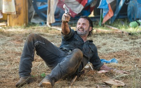 Picture The Walking Dead, Andrew Lincoln, Rick, Season 7