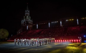 Picture music, holiday, the evening, area, the Kremlin, festival