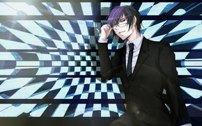 Picture anime, guy, Vocaloid, Vocaloid, Kaito