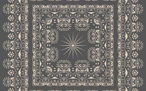 Wallpaper vintage, pattern, ornament, background, texture, vector