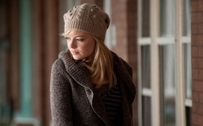 Wallpaper Girl, Blonde, Hat, Girl, Hair, Actress, Movie, The film, Fiction, Beauty, Marvel, Blonde, Beautiful, Emma ...