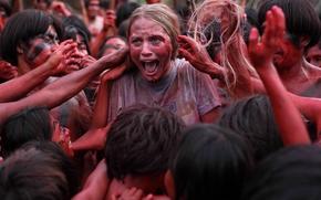 Picture cinema, panic, jungle, movie, village, fear, blonde, film, cannibals, terror, cannibal, Sky Ferreira, Eli Roth, …