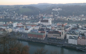 Picture home, Germany, Bayern, panorama, Passau