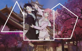 Picture anime, Sakura, a homeless God, Yato, madskillz, house by Sakura