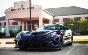 Picture Dodge, Viper, Black, Wheels, ACR