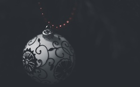 Picture ball, bokeh, CHristmas atmosphere