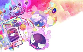 Picture Figure, car, Auto, Pokemon, Pokemon, Ghost, Gengar, Gengar, Gastly, Gastly, Ghosts, Chandeleur, Chandelure, Drifblim, Drifblim
