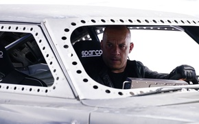 Wallpaper cinema, Vin Diesel, film, Dominic Toretto, Sparco, Fast And Furious 8, Fast 8, Fast & ...