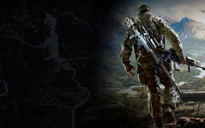 Picture Mountains, Game, City Interactive, Sniper: Ghost Warrior 3