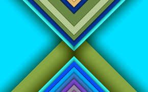 Picture color, triangles, layers
