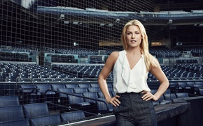 Picture girl, face, mesh, hair, blouse, stadium, ali larter