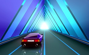 Picture Music, The game, Neon, The tunnel, Machine, Background, The tunnel, Neon, Synthpop, Darkwave, Synth, Tunnel, …