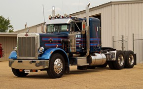 Picture Model, Truck, Peterbilt, 359, 1985