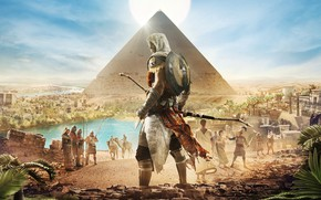Picture Pyramid, Egypt, Origins, Ubisoft, Assassin's Creed, Assassin's Creed: Origins, Bayek