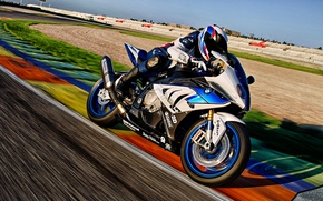Wallpaper track, BMW, BMW, motorcycle, HP4, sport