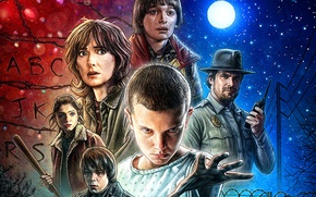 Picture Winona Ryder, Winona Ryder, Millie Bobby Brown, Stranger Things, Very strange things, Natalia Dyer, Millie …