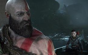 Picture game, Sony, demigod, armor, Kratos, God of War, bow, Loki, god, arrow, strong, god of …