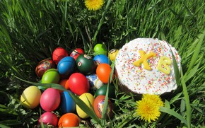 Picture eggs, Easter, April, spring 2018